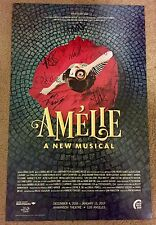 Amelie Signed Pre Broadway Musical Poster Playbill Phillipa Soo Hamilton LA