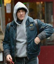 """SCHOTT FLY JACKET  CWU-R ( Mod Daniel Craig ) SIZE """"M""""  BLACK ARMY SUPPLY"""