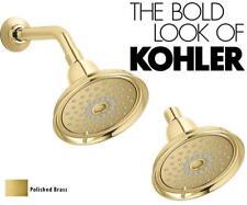 Kohler 45413-G-Pb Devonshire Showerhead Katalyst Technology, Polished Brass
