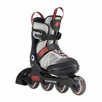 K2 Raider Kid's Inline Skate - Grey/Red - 4-8
