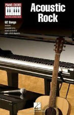 ACOUSTIC ROCK PIANO CHORD SONG BOOK SHEET MUSIC VARIOUS ARTISTS HAL LENOARD