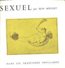 BOULLET - Symbolisme sexuel