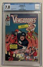 avengers #4 Mexican edition CGC 7.0 Los Vengadores. Captain America joins