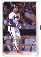 REGGIE JACKSON Autographed Ceramic Gartlan USA baseball Card #D /1986 AUTO