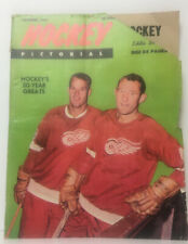 Vintage December 1965 Gordie Howe Hockey Pictorial NHL Hockey Magazine