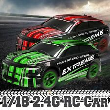 Drift WRC Radio Remote Control Car 20KMP 1:18 Scale RC Function 4 Wheel Drive
