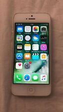 Apple iPhone 5 - 16GB - BLANCO Y PLATA LIBRE