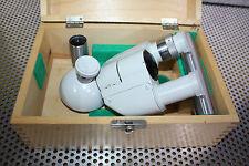 1 Trinokularansatz PZO für Mikroskope PZO/Zeiss Jena/LOMO /Leitz/Olympus/Zeiss