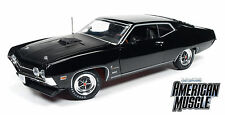 1:18 Autoworld AMM1085 1970 Ford Torino Cobra Schwarz /Black Limited!! Neu & OVP