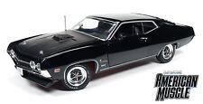 1:18 Autoworld AMM1085 1970 Ford Torino Cobra Schwarz /Black Limited!! Neu & OVP