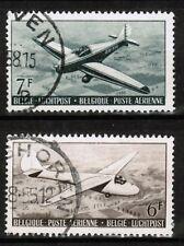 Poste aérienne PA 28-29, oblitérés, Val COB 1,00 EUR