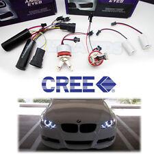 BMW E70 X5 E90 E92 E93 E71 X6 E87 Yeux D'ange H8 4 LEDS Marqueur Ampoules 7k