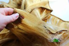 Human Hair Rooting Reborn Babies Toddlers Straight 50g Blonde Gold NOT Mohair