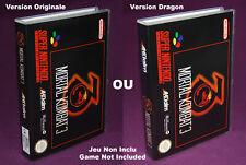 MORTAL KOMBAT 3 - Super Nintendo SNES EUR - Universal Game Case (UGC)