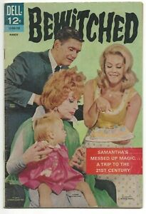 Bewitched #6 Fine - Vintage Photo Cover Silver Age Dell Comics 1967 SA