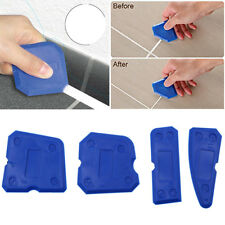 NEW CAULKING TOOL KIT SEALANT SILICONE GROUT REMOVAL FINISHING & CLEANING SET