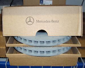 Mercedes-Benz OEM Front Brake Rotors Disks 2017 to 2021 C43 Sedan W205-Set of 2