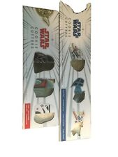 New listing Star Wars Cookie Cutters- 2 Sets of 4 in Box by Williams Sonoma