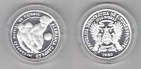 SAINT THOMAS AND PRINCE - PROOF 1000 DOBRAS COIN 1990 YEAR KM#48 FOOTBALL ITALY