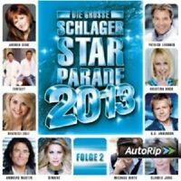 DIE GROSSE SCHLAGER STARPARADE 2013,FOLGE 2  CD NEU
