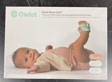Owlet Smart Sock 3rd Gen Voice & Breathing Baby Monitor