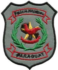 PATCH PARAGUAY NATIONAL POLICE POLICIA NACIONAL DE PARAGUAY EB01197 OLD MODEL