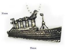 Titanic Silver Pendant