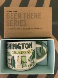 Starbucks 2oz Demi Tasse WASHINGTON BEEN THERE mug Ornament Cup Mini Mug