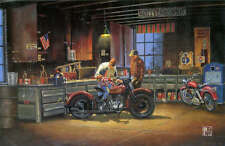 Dave Barnhouse From One Generation To Another AP 41/195  Mint W/CERT Harley