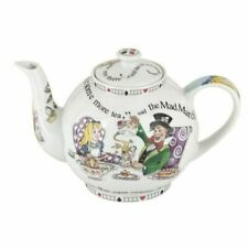 Boxed Cardew Alice in Wonderland 4 Cup Teapot 30oz
