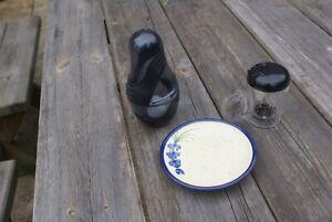 Jamie Oliver Shaker & French Sauce Maker & Pottery Garlic Grater