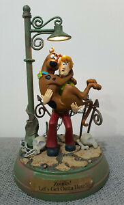 Scooby-Doo & Shaggy Light-Up Statue Limited Edition Applause 2000 Very Rare HTF!