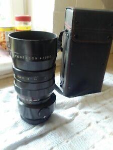 Pentacon six / Kiev 60.  4/300 lense + case.