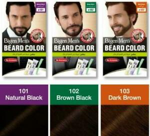 Bigen Men's Beard Color | No Ammonia | B101 B102 B103 | 40 Gram