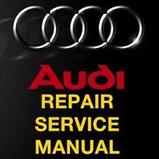 AUDI A4 B6 B7 2002 2003 2004 2005 2006 2007 2008 SERVICE REPAIR MANUAL