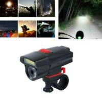 6 Modes Bike Front Head Light AAA Battery Bicycle LED Lamp Cycling Flashlight-