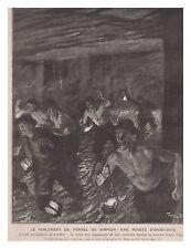 L'ILLUSTRATION 3236 03/1905 TUNNEL SIMPLON PRISONNIERS RUSSES PONT ARTHUR