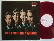 TEST PRESS RED VINYL / DANCE WITH THE SHADOWS / 60'S LAMINATED FLIP BACK COVER
