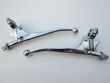 CLUTCH BRAKE CONTROL LEVER SET BALL END BSA TRIUMPH NORTON AJS MATCHLESS ARIEL