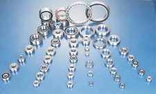 """10pcs 3/16"""" x 5/16"""" x 1/8""""F Metal Sealed Flange Ball Bearings"""
