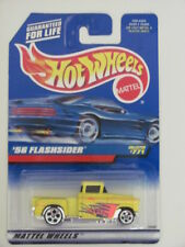 HOT WHEELS 1998 '56 FLASHSIDER  YELLOW COLLECTOR #771