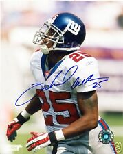 WILL ALLEN NEW YORK GIANTS SIGNED 8X10 PHOTO W/COA