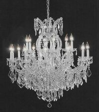 MARIA THERESA CHANDELIER CRYSTAL LIGHTING CHANDELIERS 37X38
