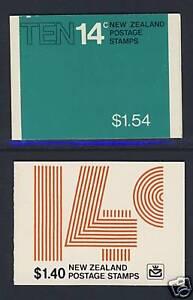 New Zealand - Booklets - Scott 614