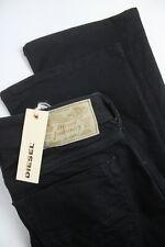 DIESEL ZATINY 0RF84 STRETCH REGULAR BOOTCUT Men's W27/L30 Black Jeans 2692*mm