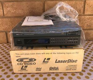 MAGNAVOX Multi Laser Disc WRV-100 with Box