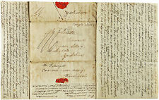1821 Manuscript Letter - FOTHERGILL of CARR END - Colonial New York - WHISKEY