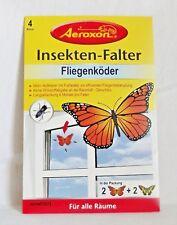 Aeroxon Insekten-Falter Fliegenköder Motiv-Aufkleber mit Fraßköder