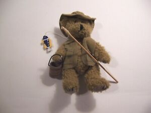 "Ross Bear Fisherman 7"" Vintage 2000        #R115"