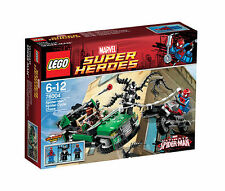 LEGO Super Heroes 76004 Spider-Man Spider Cycle Chase  Neu OVP